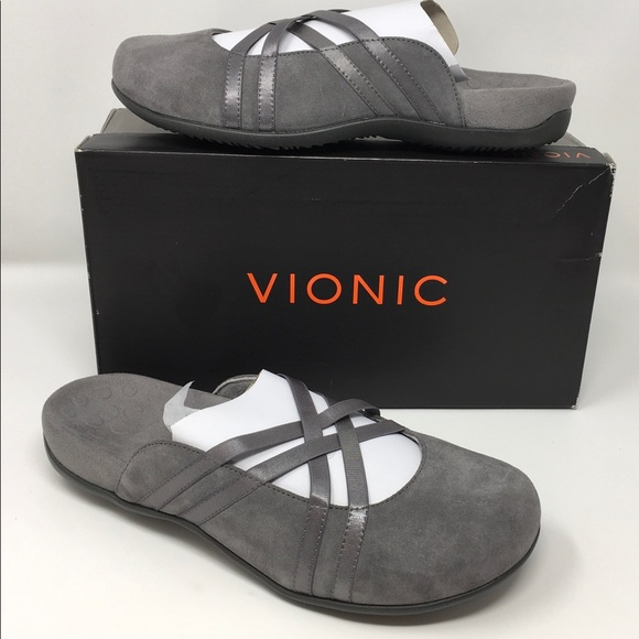 Vionic Shoes   New Claire Slipon Mules